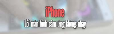 man hinh iPhone kem nhay