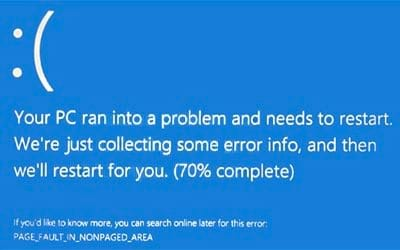 cach sua loi 0x00000050 tren windows 10 loi page fault in nonpaged area
