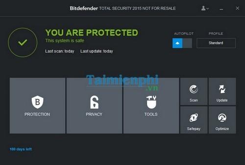 (Giveaway) Đăng ký bản quyền Bitdefender Total Security 2015 sử dụng 6