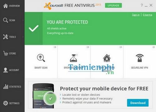 ban quyen 1 nam avast free antivirus 2015
