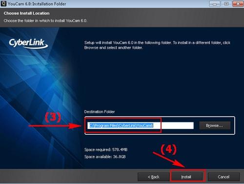 cai CyberLink Youcam tren laptop