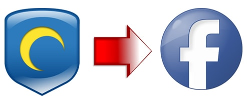 truy cap facebok bang hotspot shield
