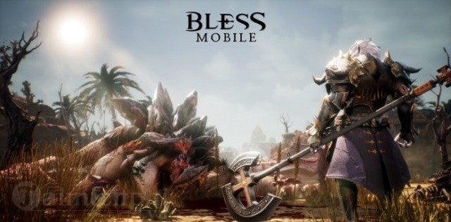 bless mobile game nhap vai so huu do hoa dinh cao
