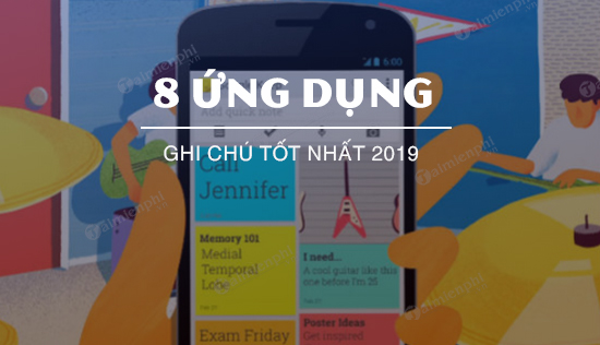 ung dung ghi chu