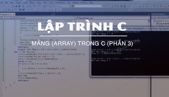 mang array trong c phan 3