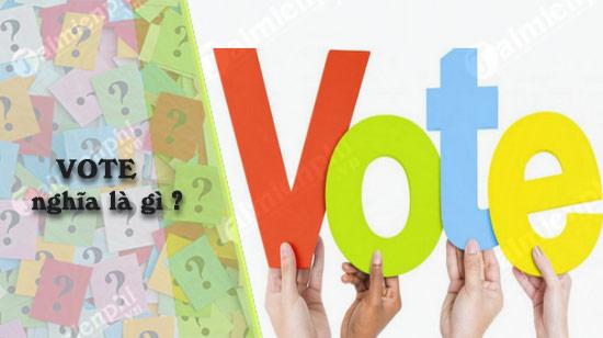 vote nghia la gi