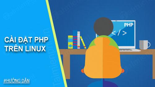 cai dat php tren linux