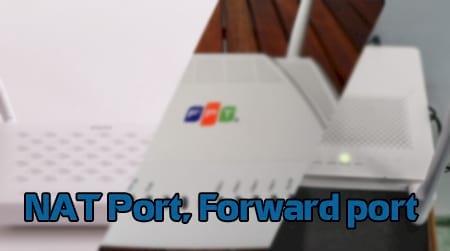 cach nat port forward port voi cac modem pho bien