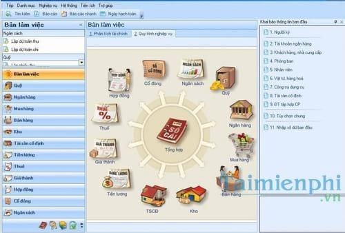 Tổng hợp các phần mềm kế toán thông dụng hiện nay