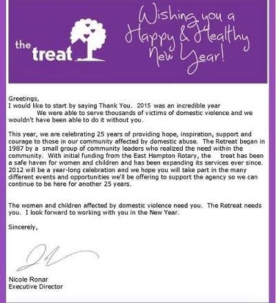email newsletter trong email marketing