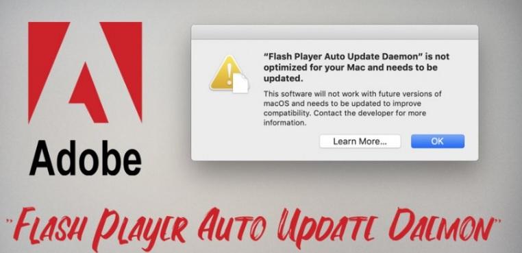 sua loi flash player auto update daemon tren mac