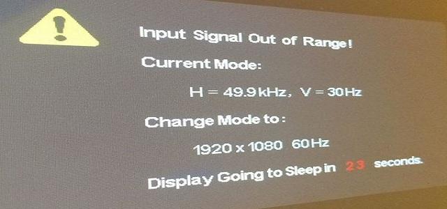cach sua loi input signal out of range