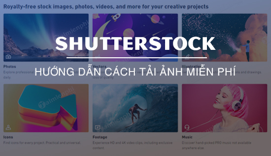 cach tai anh tren shutterstock mien phi bang cong cu nohat cc