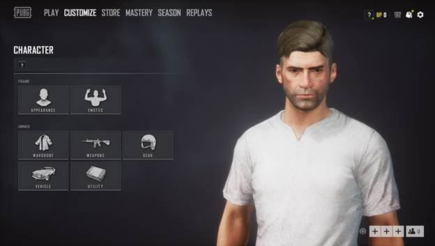 chi tiet thay doi giao dien nguoi dung trong pubg pc mua 4