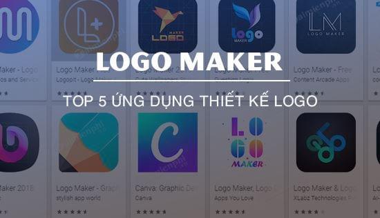 ung dung thiet ke logo tren dien thoai tot nhat