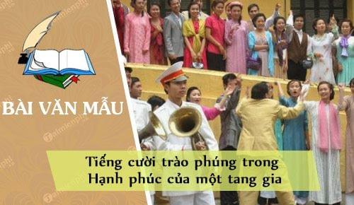 tieng cuoi trao phung trong hanh phuc cua mot tang gia
