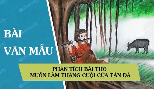 phan tich bai tho muon lam thang cuoi cua tan da
