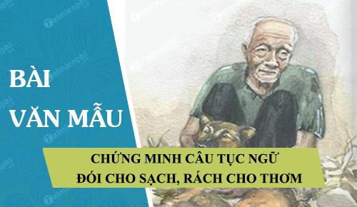 chung minh cau tuc ngu doi cho sach rach cho thom