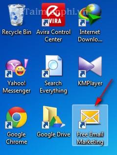 Phần mềm spam mail miễn phí