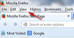 huong dan bat Full Screen cua Firefox.