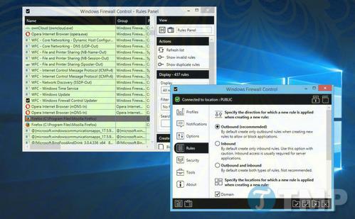 windows firewall control 5 duoc phat hanh mo rong them cac tinh nang windows firewall co san