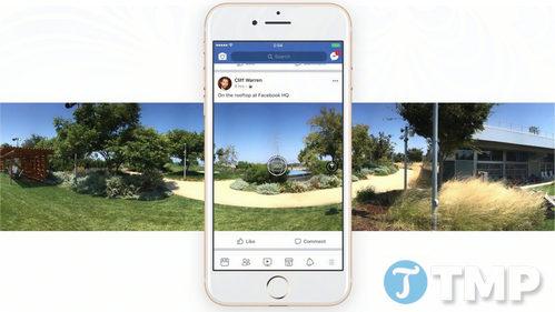 facebook bo sung tinh nang chup anh 360 do tren ung dung facebook danh cho android