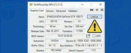 gpu z da co the phat hien card do hoa nvidia gia