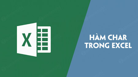 ham char trong excel