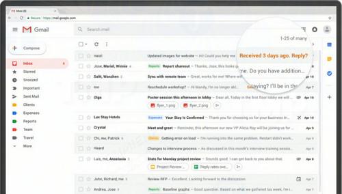 google phat hanh ban cap nhat gmail lon nhat voi mot loat tinh nang moi
