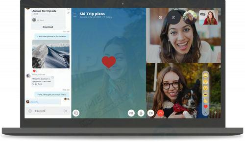 microsoft cong bo ban cap nhat lon skype cho windows 10