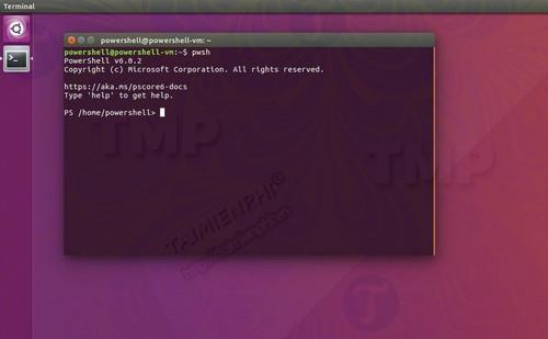 powershell cho ubuntu co san duoi dang snap