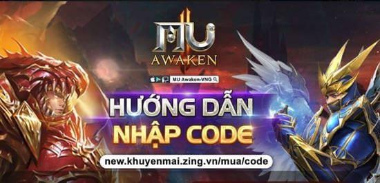code mu awaken vng