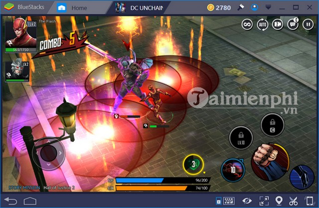 phim nong game dc unchained