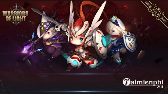 cach choi warriors of light tren pc bang gia lap android