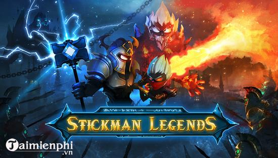 cach choi stickman legends tren pc