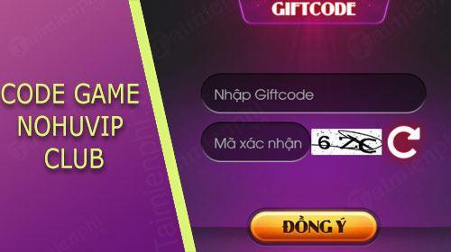 code nohuvip club