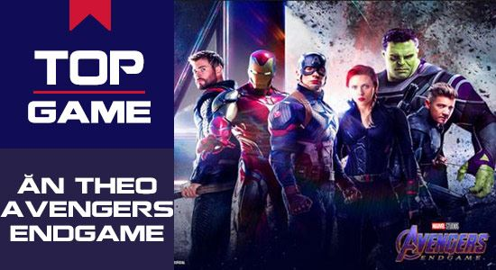 top nhung game an theo avengers endgame cua marvel