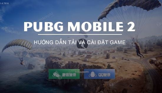 huong dan cach tai pubg mobile 2 co dao hanh dong