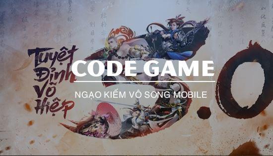 cach nhan code ngao kiem vo song mobile