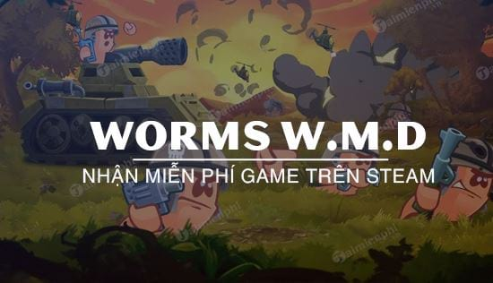 cach nhan mien phi worms w m d tren steam