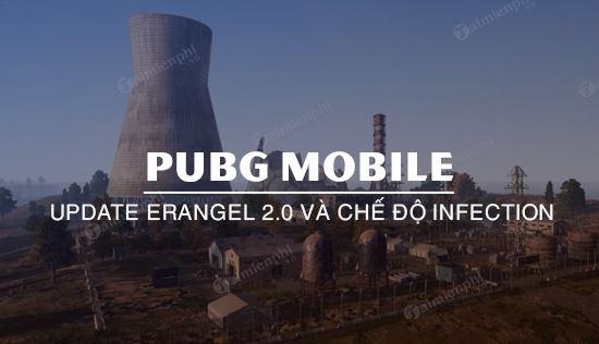 pubg mobile update erangel 2 0 va the walking dead