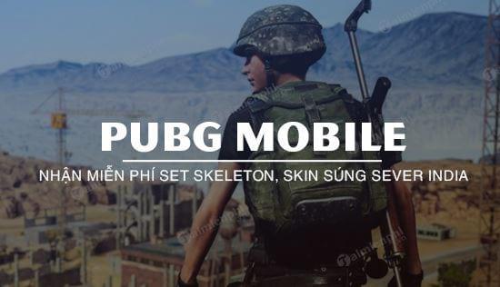 huong dan nhan mien phi do pubg mobile may chu india