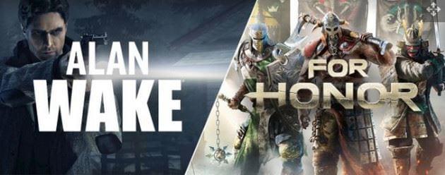 nhan mien phi for honor va alan wake tren epic games store ngay hom nay