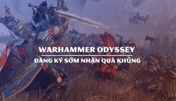 game mmorpg warhammer odyssey mo cua cho nguoi choi dang ky som