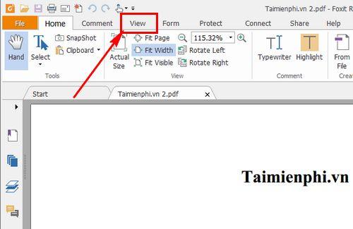 cach thay doi co chu file pdf bang foxit reader