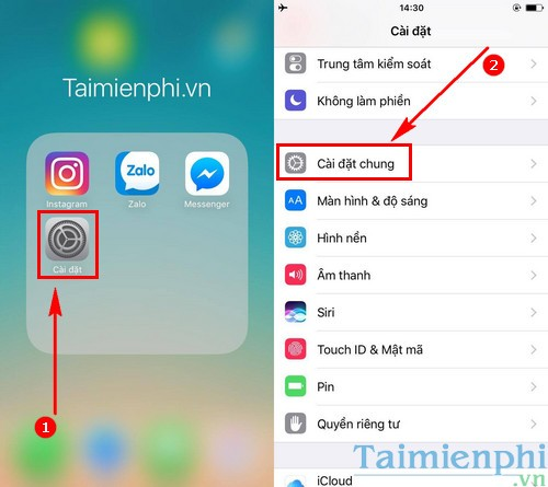 huong dan nang cap ios 10 3 beta cho iphone ipad