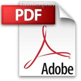 an thanh thong bao trong Adobe Reader