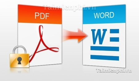 chuyen doi, doi duoi pdf sang word bang PDF to Word Converter