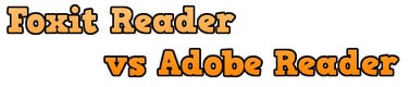 so sanh Foxit Reader va Adobe Reader