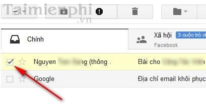 danh nhan cho thu trong gmail